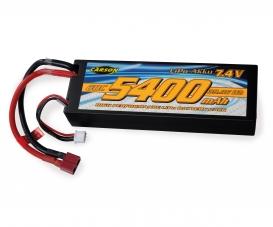 7,4V/5400mAh 60C LiPO accu T-Pl. HC