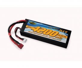 11,1V/4200mAh 60C LiPO accu T-Pl. HC