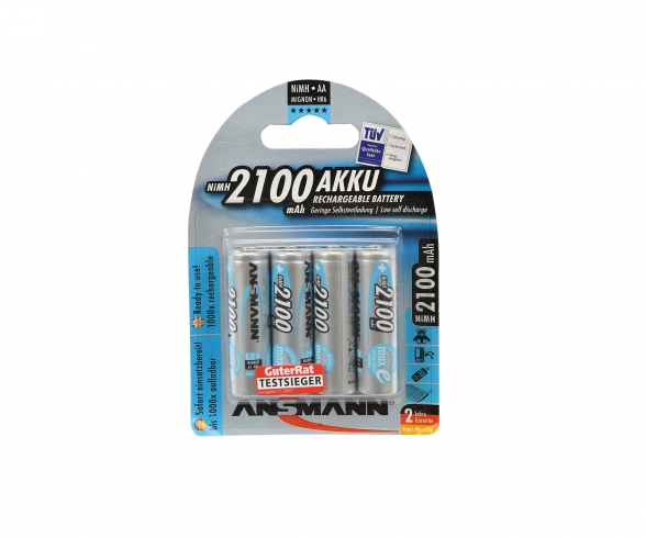 1,2V/2100mAh Mignon/AA accu Set (4)
