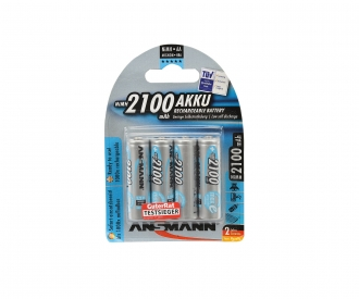 1,2V/2100mAh Mignon/AA Battery Set (4)
