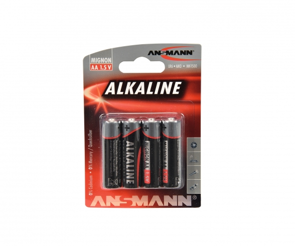1,5V Micro LR6/AA Alkaline Set (4)