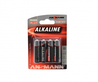 1,5V Alkaline Mignon AA LR6 Batterie (4)
