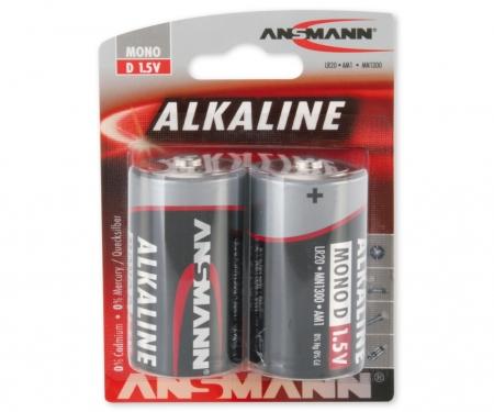 Battery Set Mono/D 1,5V (2)