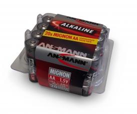 1,5V Alkaline Mignon AA Batt.-Box (20)
