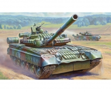 1:35 Mod. Rus. Main Battle Tank T-80BV