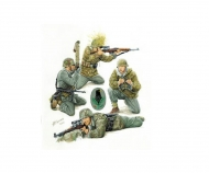 1:35 WWII Fig.-Set German Snipers (4)