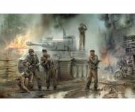 1:35 WWII Fig-Set Ger. Tank Crew (5)