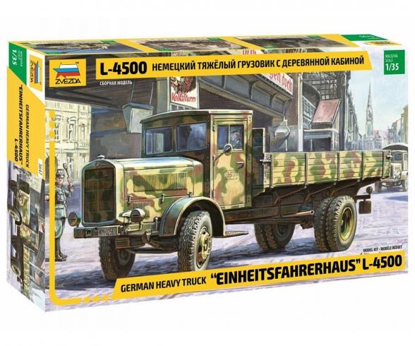 1:35 WWII Ger.Cargo-Truck L4500S Std.Cab