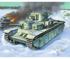 1:35 T-35 Heavy Soviet Tank