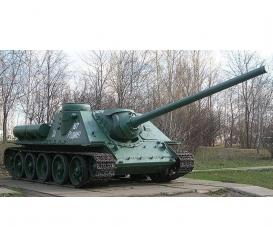 1:35 SU-100 Soviet tank destroyer WWII