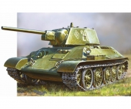 1:72 WWII Rus. KPz T34/76 Snap-Fit