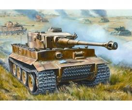 1:72 WWII Ger. MBT Tiger I Click-Kit