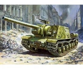 1:72 ISU-122 Sov.Self Propelled Gun WWII