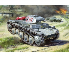 1:100 WWII German Tank II