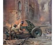 1:72 WWII German Gun Pak-36 w/Crew