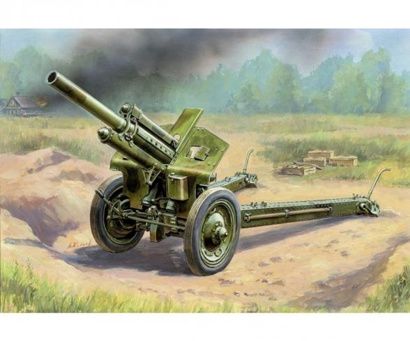 1:72 WWII Soviet M30 Howitzer