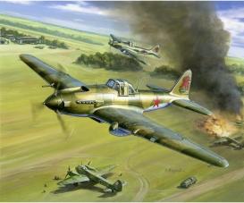 1:144 WWII Sovjet IL-2 Storm.