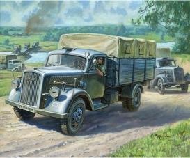 1:100 WWII Deutscher 3t Transporter LKW