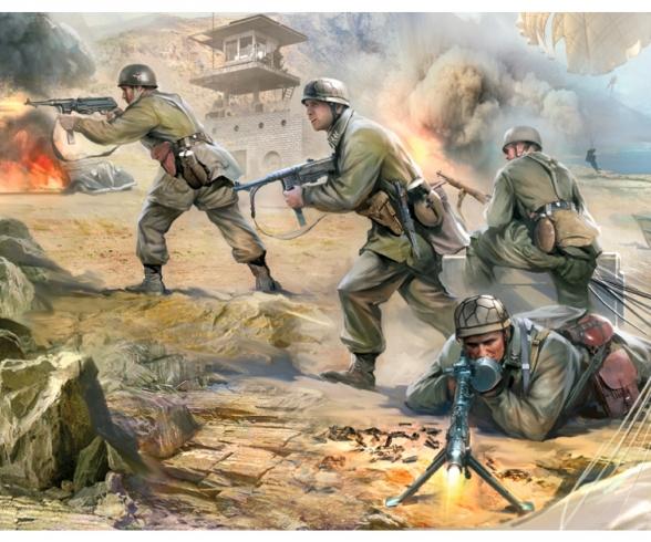 1:72 WWII German Paratroops