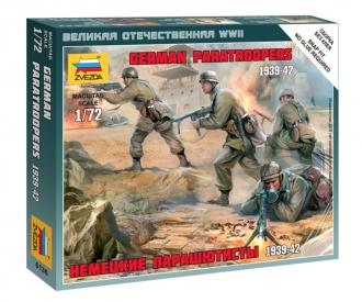 1:72 WWII Deutsche Fallschirmjäger