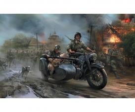 1:72 WWII German Motorcycle R-12