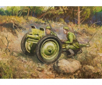 1:72 WWII Soviet 76-mm Gun