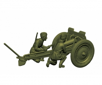 1:72 WWII Soviet 76 mm Geschütz