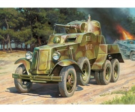 1:100 Soviet Panzerwagen BA-10