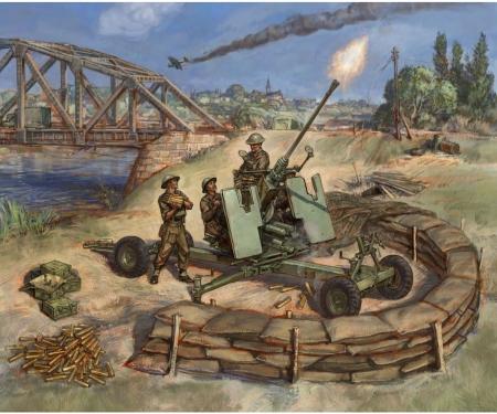 1:72 British Bofors 40mm Mk-2 AA-Gun