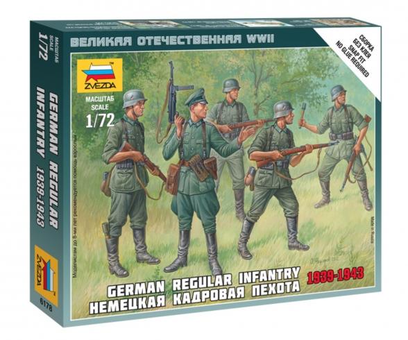 1:72 German Regular Infantry 1939-42