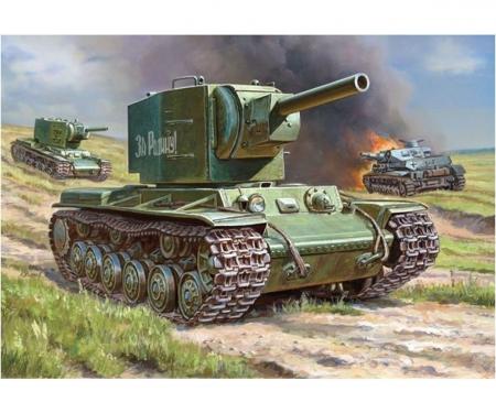 1:100 Sovietischer Panzer KV-2