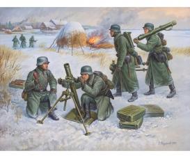 1:72 German 80-mm Mortar w/Crew (Winter)