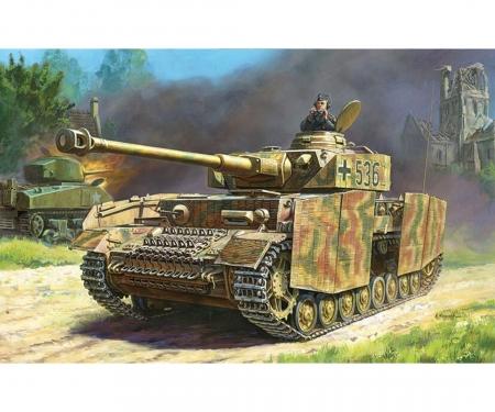1:100 Panzer IV Ausf.H German tank WWII