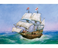 "1:350 English Galleon ""Golden Hind"""