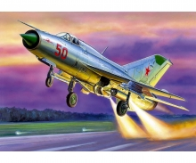 1/72 MiG-21 PFM Soviet Fighter (RR)