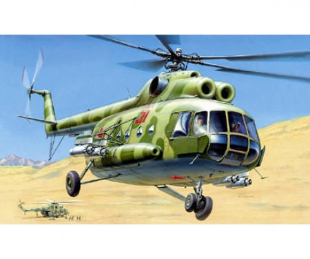 1:72 MIL MI-8T Soviet Helicopter WA