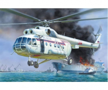 1:72 MIL MI-8 Rescue Helicopter