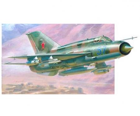 1:72 Fighter Jet MiG-21BIS Fishbed-L