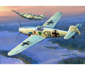 1:72 WWII Ger.Fig.Messerschmitt BF-109F2