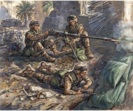 "1:72 US-Machine gun ""Browning"" with crew"