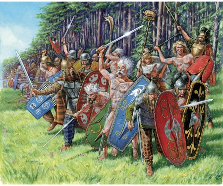 1:72 Gallic Infantry (RR)