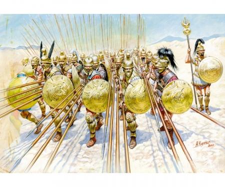 1:72 Macedonian Phalanx IV-I cent.B.C.