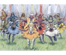 1:72 Samurai Warriors-Cavalry