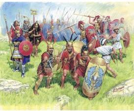 1:72 Roman Republican Infant.III-II B.C.