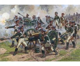 1:72 Rus. Schw.Artillerie m.Fig. 1812