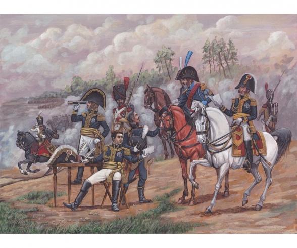 1:72 Hist. French Napoleonic Gener.Staff