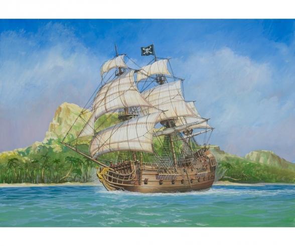 "1:72 Piratenschiff ""Black Swan"""