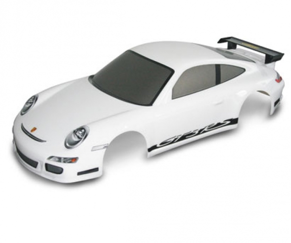 1:10Body Set Porsche911 GT3 white w/dec.