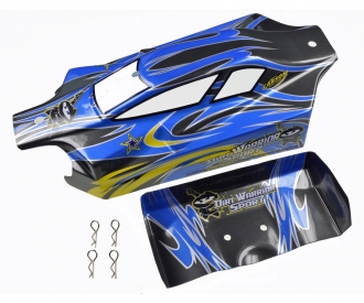X10EB Dirtwarr.Sport Karosserie+Spoiler