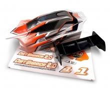 X10EB Dirtwarr.Sport Body + Wing